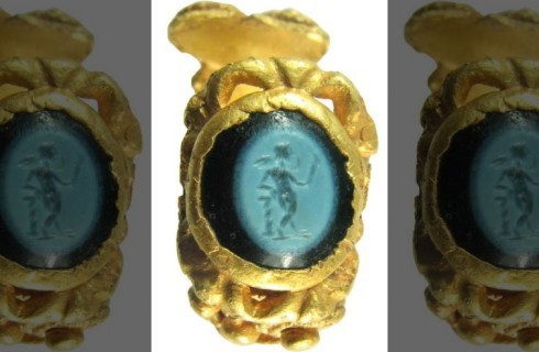Римское кольцо пряталось в Великобритании