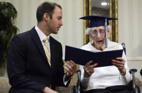 90 лет – лучший возраст для исполнения мечты