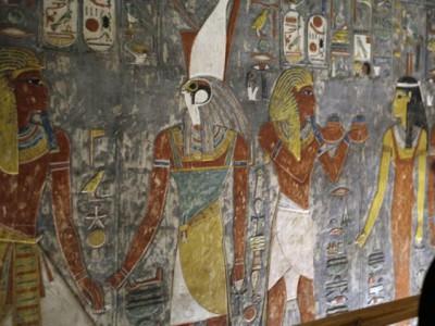 Новые гробницы Египта
