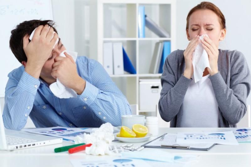 Почему люди ходят на работу заболевшими