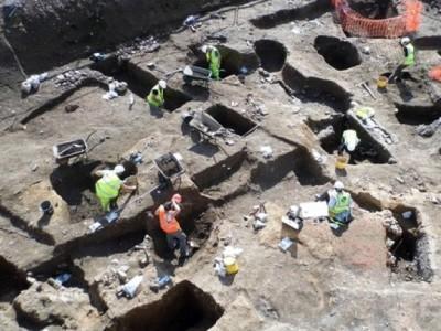 Раскопки в Лестере