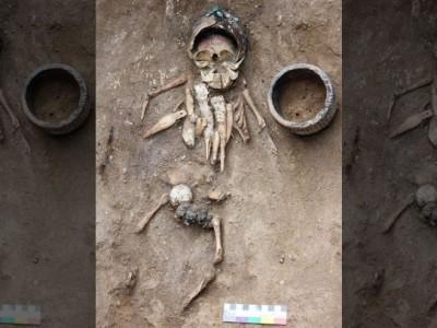 Захоронение в Хакасии