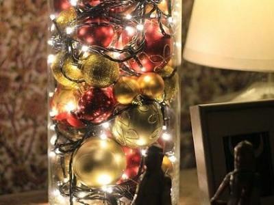 Идея новогоднего украшения квартиры