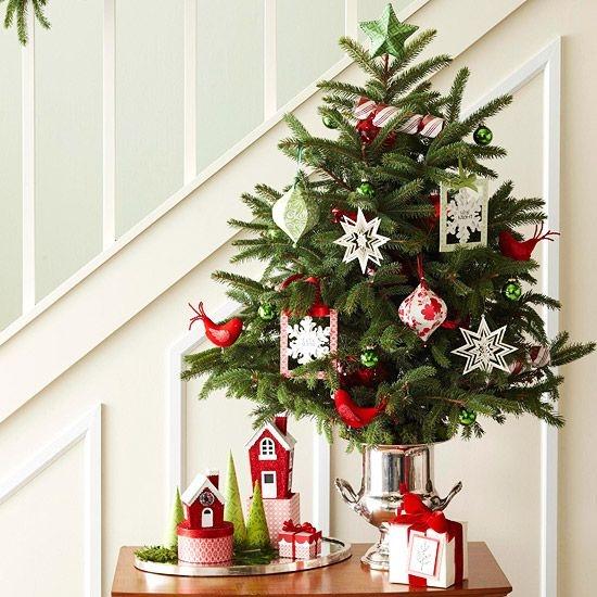 Идеи для новогоднего украшения небольших квартир