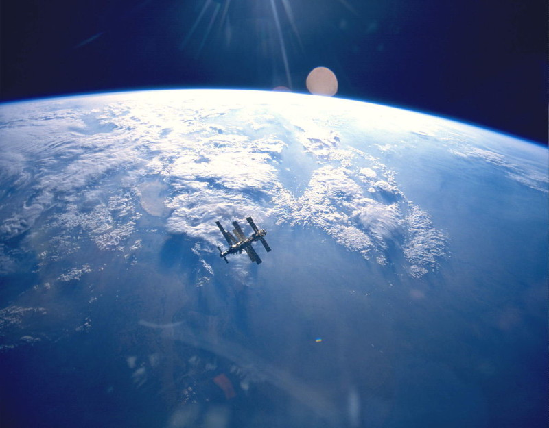 Российский космический аппарат с ядерным двигателем
