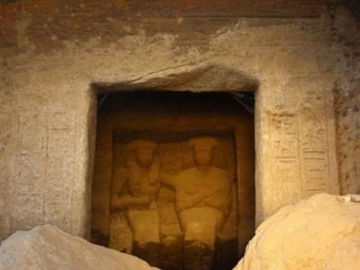 Египетские статуи . Кенотаф
