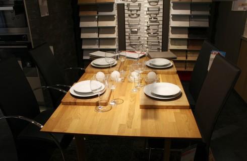 На аппетит человека влияет размер стола
