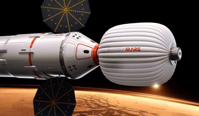 NASA построит специальный жилой модуль для отправки на Марс