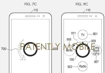 Иллюстрация к патенту компании Samsung
