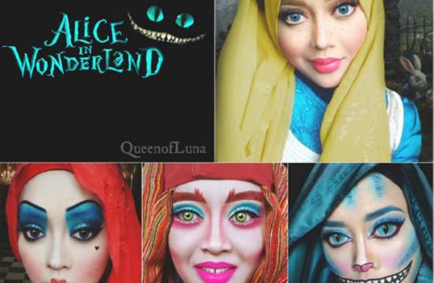 Хиджаб превращает в диснеевских персонажей