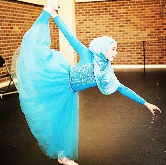 Воплощение мечты о балете в хиджабе