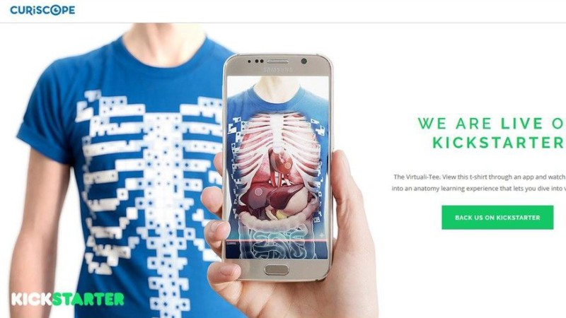 Эта футболка научит анатомии