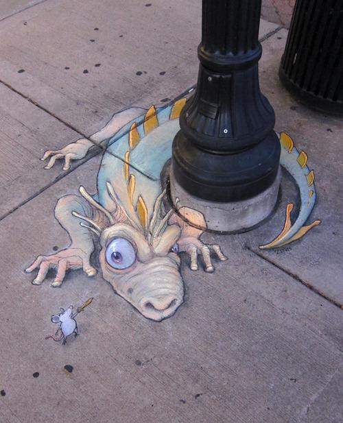 Драконы ожили на улицах Мичигана