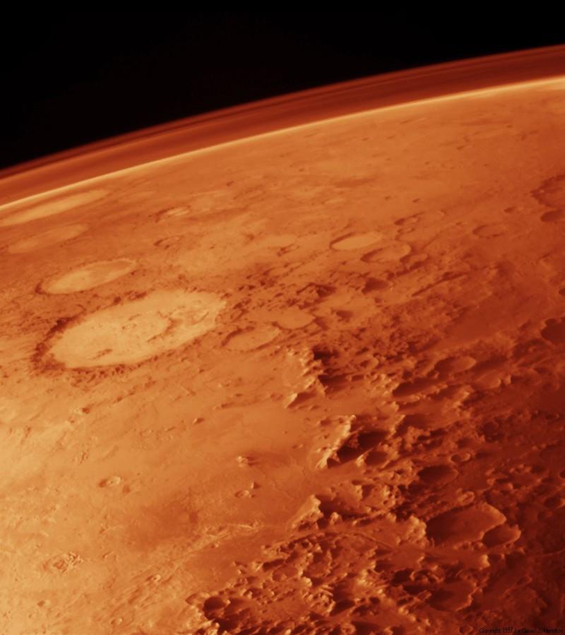 Новый марсоход запишет звуки чужих