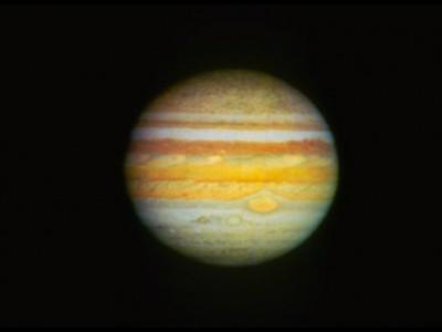 Полярные сияния Юпитера
