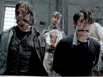 The Walking Dead. Кадр из пятого сезона