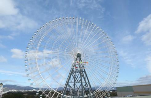 В Японии появится самое страшное колесо обозрения