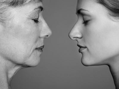 Женщины стареют