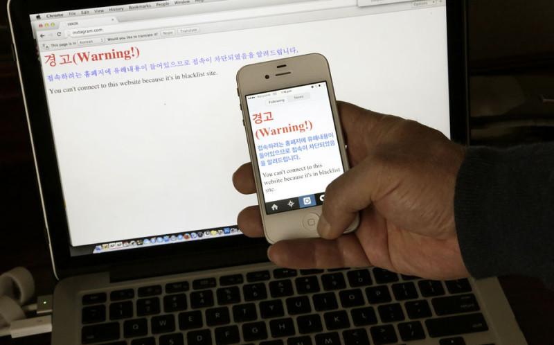 Власти КНДР заблокировали доступ к Facebook, Twitter и YouTube