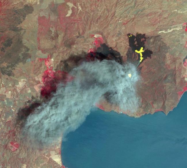 NASA опубликовало засекреченные снимки Земли