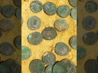 Древний клад. Римские монеты