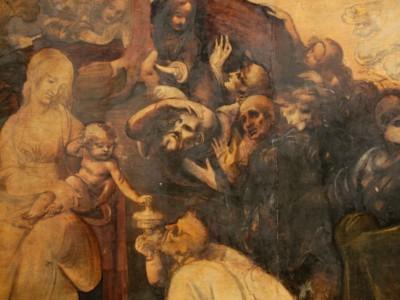 Анализ холстов Леонардо да Винчи