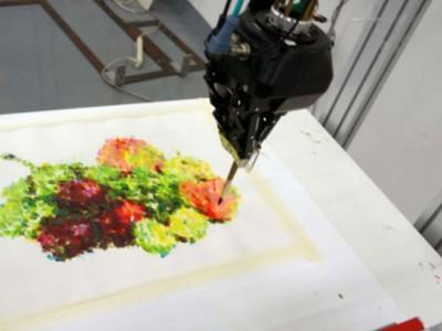 Robot Art. Картина победителя