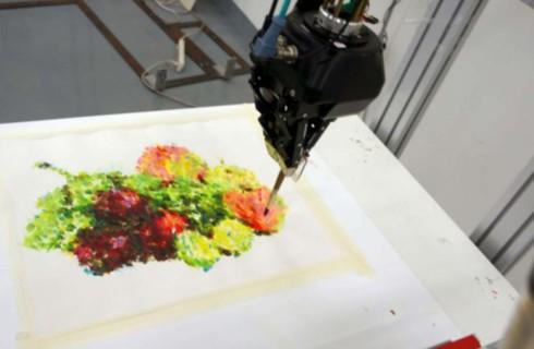 Роботы стали художниками