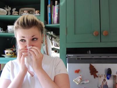 Редкая аллергия: насморк