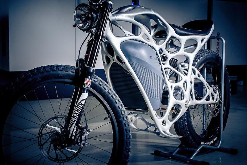 Компания Airbus продает мотоциклы, напечатанные на 3D-принтере