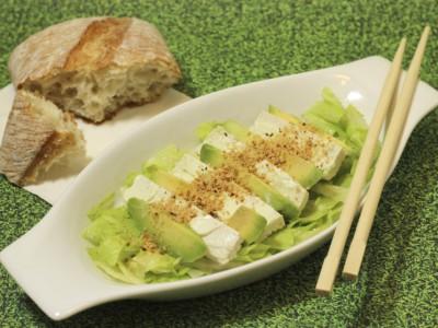 Жиры в пище : салат из авокадо