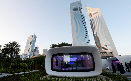 В Дубае напечатали здание на 3D-принтере