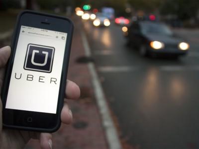 Онлайн-сервис такси  Uber