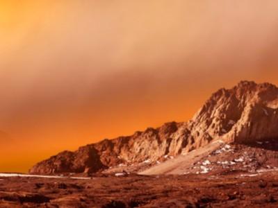 Вода на Марсе превращается в кипяток