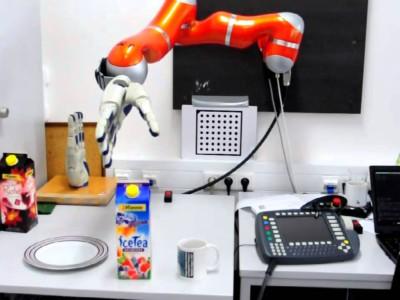 Нервная система для роботов Kuka