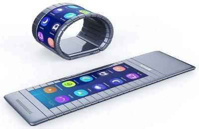 Смартфон-браслет скоро появится в продаже