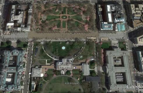 Странный сад рядом с Белым Домом