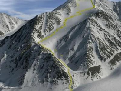 Гора Исто самая высокая на Аляске