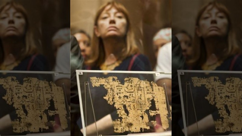 Египетский папирус рассказал о строительстве пирамид