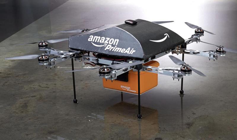 Amazon в Великобритании тестирует доставку беспилотниками