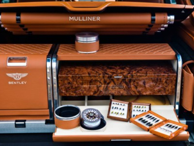 Bentayga Fly Fishing. Багажник