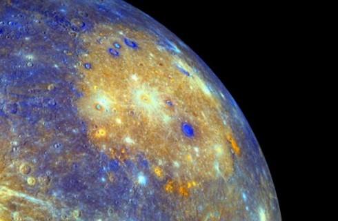 Меркурий когда-то «плевался» мантией