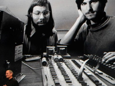 Celebration Apple-1. Стив Возняк и Стив Джобс