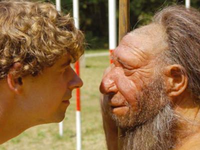 Неандертальцы могли пережить холод
