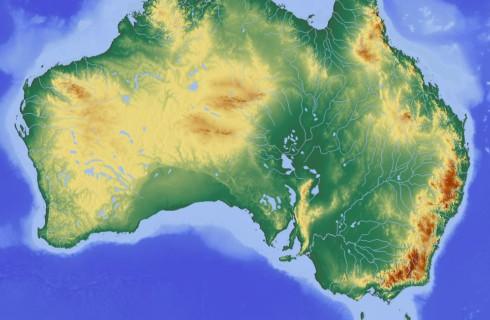 Австралийский материк сместился