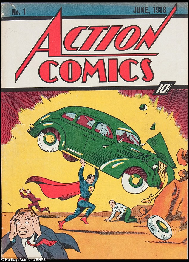 Первого Супермена продадут на аукционе