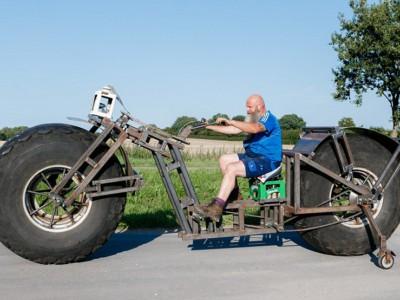 Самый тяжелый велосипед  Фрэнка Дозы