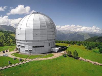 Телескоп ММТ. Астрофизическая обсерватория РАН в Карачаево-Черкесии