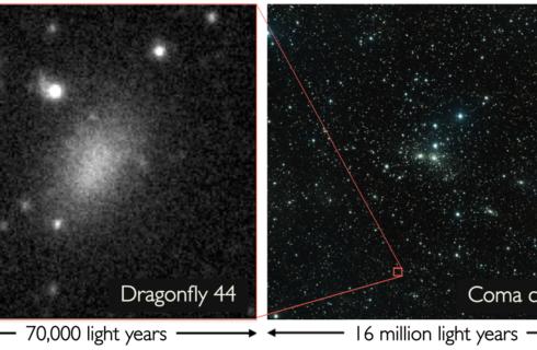 Ученые обнаружили галактику из темной материи