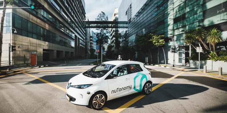 Самоуправляемые такси поехали по дорогам Сингапура